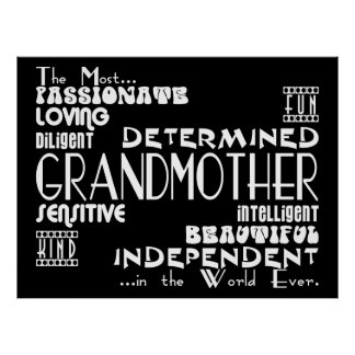 Mejor y calidades de las abuelas y de las abuelas  posters