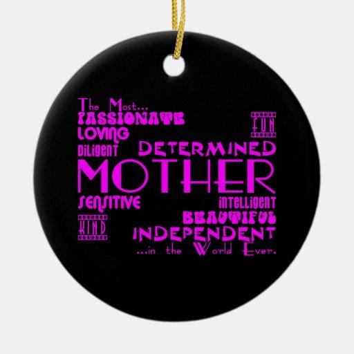 Mejor y madres y mamáes de Greastest: Calidades Adorno Redondo De Cerámica