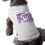 Mejor y madres y mamáes de Greastest: Calidades Camiseta De Mascota