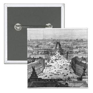 Mejoras a París Pin Cuadrado