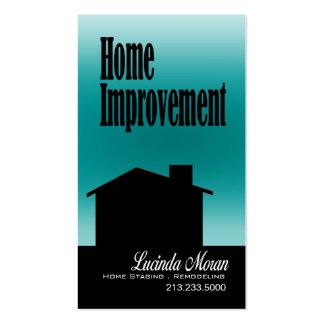 Mejoras para el hogar que remodelan los interiores tarjeta personal