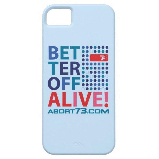 ¡Mejore de vivo! /Abort73.com iPhone 5 Carcasa