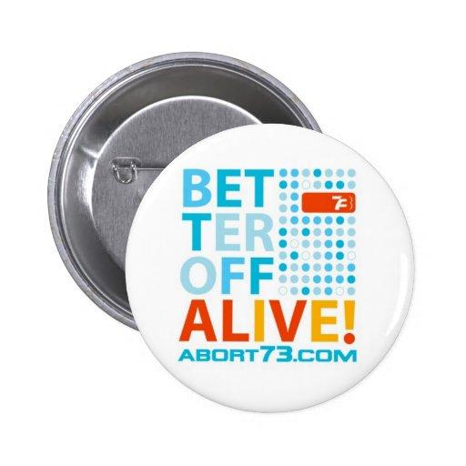 ¡Mejore de vivo! /Abort73.com Pin