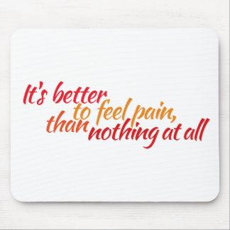 mejore el dolor de la sensación mousepads