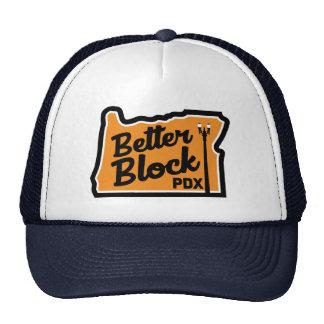 Mejore el gorra del camionero del logotipo del