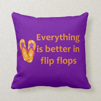 Mejore en flips-flopes cojin