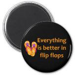 Mejore en flips-flopes imanes para frigoríficos