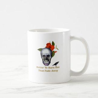 Mejore para quemar que se descoloran lejos taza de café