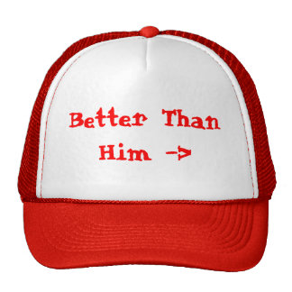 Mejore que él el gorra