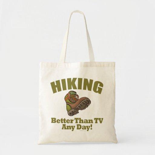 Mejore que la TV - caminando Bolsa Tela Barata