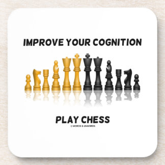 Mejore su ajedrez del juego de la cognición (el posavasos