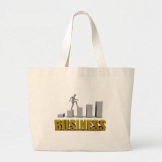 Mejore su negocio o proceso de negocio como bolsa tela grande