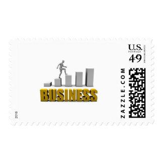 Mejore su negocio o proceso de negocio estampilla