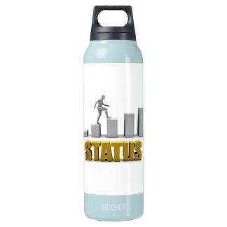 Mejore su proceso de la situación o de negocio botella isotérmica de agua