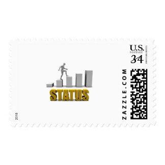 Mejore su proceso de la situación o de negocio timbre postal