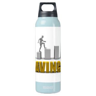 Mejore sus ahorros o proceso de negocio como botella isotérmica de agua