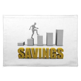 Mejore sus ahorros o proceso de negocio como manteles individuales