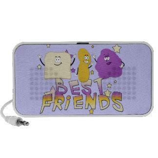 Mejores amigos mini altavoz