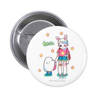 Mejores amigos, botón redondo de la pulgada de 2 ¼ pin redondo de 2 pulgadas