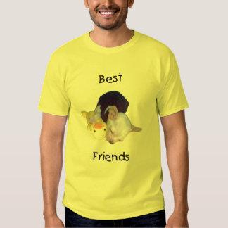 mejores amigos (chihuahua) playera