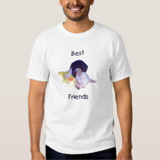mejores amigos (chihuahua) remera