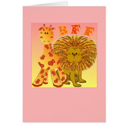 Mejores amigos de BFF para siempre Felicitaciones