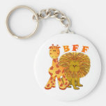 Mejores amigos de BFF para siempre Llaveros Personalizados