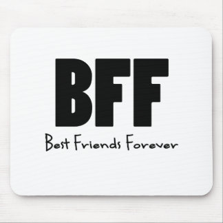 Mejores amigos de BFF para siempre Tapete De Ratón
