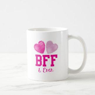 Mejores amigos de BFF para siempre Taza De Café