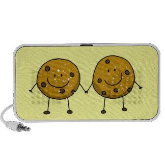 mejores amigos de la galleta de microprocesador de iPod altavoces