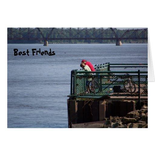 Mejores amigos felicitaciones