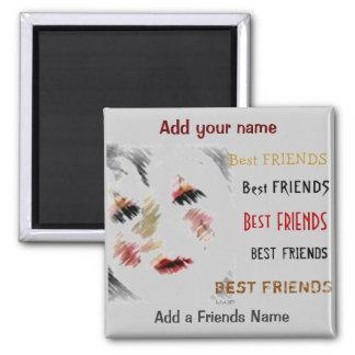 Mejores amigos imanes