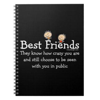 Mejores amigos cuaderno