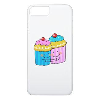 mejores amigos lindos de las magdalenas de la funda iPhone 7 plus