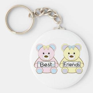 Mejores amigos llavero personalizado