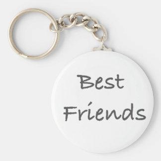 mejores amigos llavero redondo tipo pin