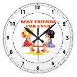 Mejores amigos para nunca reloj