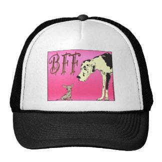 Mejores amigos para siempre 03.png rosado gorras de camionero