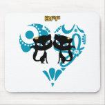 Mejores amigos para siempre (BFF) Alfombrilla De Ratones