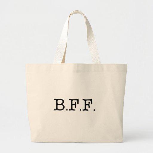Mejores amigos para siempre bolsas