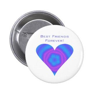 ¡Mejores amigos para siempre! Botón Pins