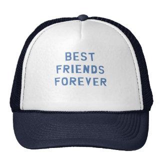 Mejores amigos para siempre gorro de camionero