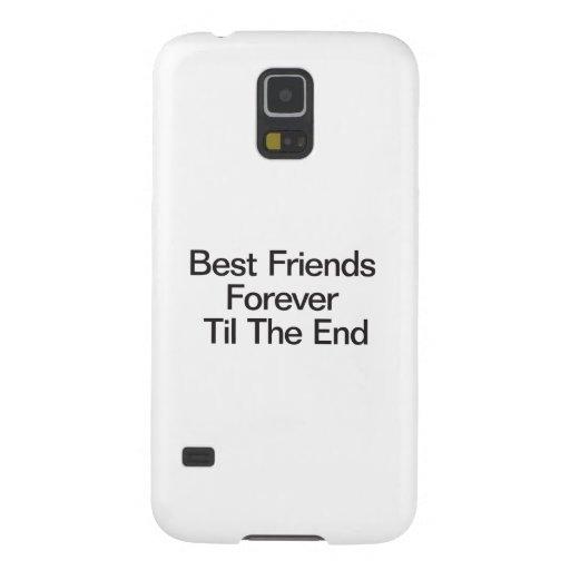 Mejores amigos para siempre hasta el End.ai Carcasa Para Galaxy S5
