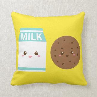 Mejores amigos para siempre leche y galletas lind almohada