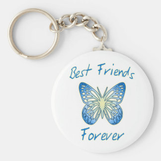 Mejores amigos para siempre llavero redondo tipo pin