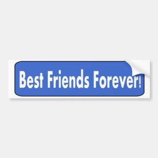 ¡Mejores amigos para siempre! Pegatina Para Auto