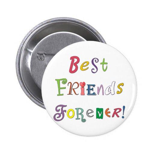 Mejores amigos para siempre pin