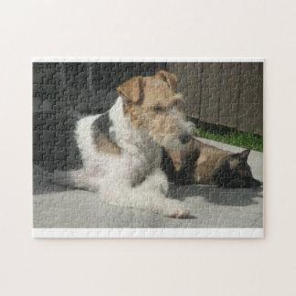 Mejores amigos para siempre puzzle con fotos