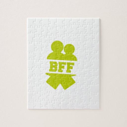Mejores amigos para siempre rompecabezas con fotos