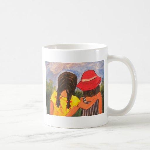 Mejores amigos para siempre tazas de café